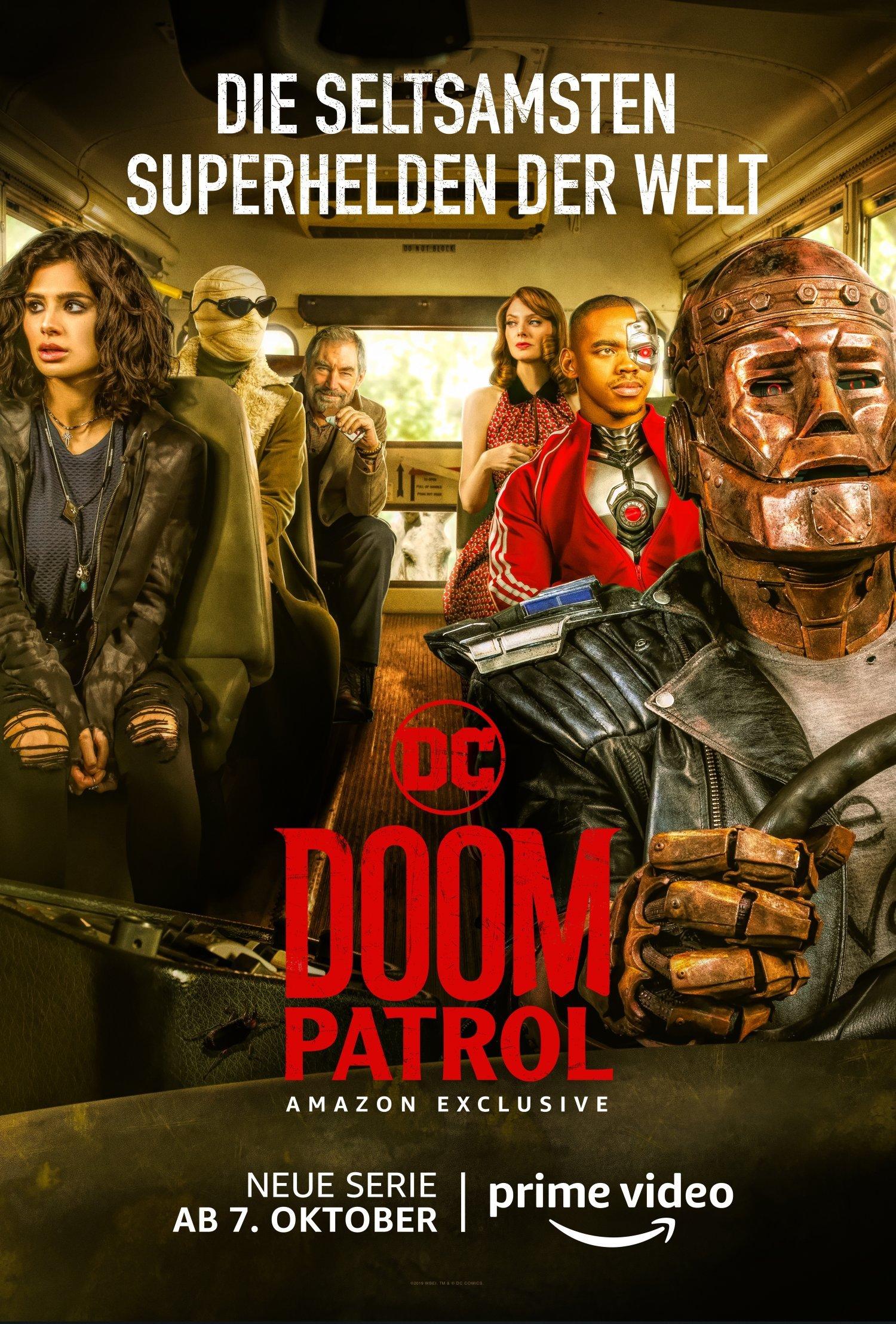 Doom Patrol Amazon Prime